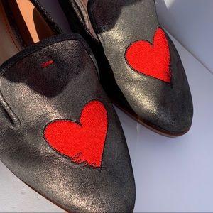 ED Ellen Degeneres Nordstrom Love Loafer Hearts